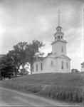 Church On Small Knoll In Buckfield by French George