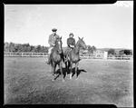 Couple On Horseback by George W. French