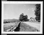 Highway, Home, Stone Wall & Mountains by George French