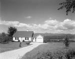 Cape Style House With Attached Garage, Nice View Of Lake And Mountains In Center Lovell by George French
