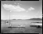 Canoeists On Moosehead Lake by George French