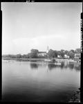 Church And Homes By The Shore In Kennebunkport by George French