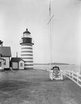 Light Tower At West Quoddy Head by George French
