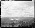 Distant View Of Lake Kezar And Surrounding Mountains, Nice Clouds In Sky by George French