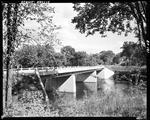Cement Bridge Over A Stream In Hollis by George French