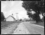 Church, House And Barn By The Road In Waterboro by George French