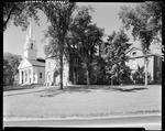 Church And Old Courthouse In Wiscasset by George French