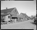 Lobster Fishermen's Shops On A Shore Road In Ogunquit by George French