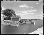 Fisherman's Shop And Wharf With Boat Tied Up At Head Of Wharf In Kittery Point by George French