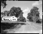 Home On A Tree Lined Country Road In Hollis by George French