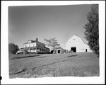 Farm House And Large Barn, Truck Parked In Yard by George French