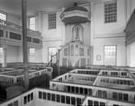 Interior Of Old Church In Alna, 1938