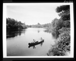 A Couple In A Canoe On The Great Ossipee by George French