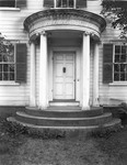 Columned Doorway On A House In Wiscasset by George French