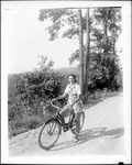 Girl Out Bike Riding by George French