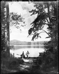Couple On Shore Of Lake Kezar by George French