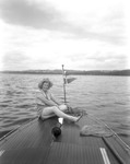 Girl Out Boating In Rangeley by George French