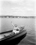 Girl Out Boating by George French