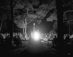 Evening Indian Ceremony At Summer Camp by George French
