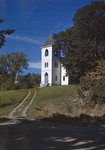 Dirt Drive Leading To Church On A Hill In Frankfort by George French