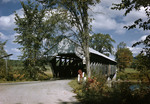 Close In View Of Covered Bridge In Parsonfield by George French