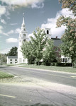 Church By The Road In Hancock, New Hampshire by George French