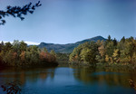 Fall Colors At Red Eagle Lake Near Moat Mountain In New Hampshire by George French