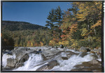 Fall Colors And Small Water Falls On The Swift River In Passaconway, New Hampshire by George French