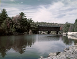 Covered Railroad Bridge In Bennington Vermont by George French