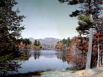 Chocorua Mtn And Chocorua Lake In Fall by George French