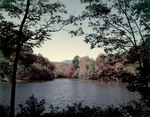 Chocorua River And Mountain In Fall by George French