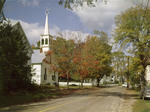 Church On A Street In Freedom, New Hampshire by George French