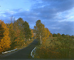 Country Road Near Freedom, New Hampshire In Fall by George French
