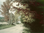 Country Road In Fall Near Freedom, New Hampshire by George French