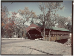 Covered Bridge In Jackson, New Hampshire by George French