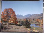 Center Notch Fron Jackson, New Hampshire In The Fall by George French