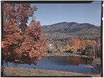 Fall Foliage And A Pond In Jackson, New Hampshire by George French
