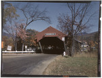 Covered Bridge At Jackson, New Hampshire by George French