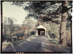 Covered Bridge At Newport, New Hampshire by George French