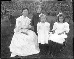Family Portrait, Mother And Three Children (Lil Ridlon) by George French