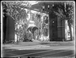 Exterior View Of An Unidentified Two Storey Brick Building by George French