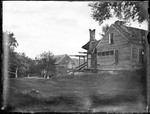 Exterior View Of Rundown Old Farm Buildings by George French