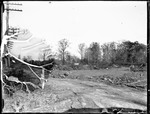Cleared Construction Site Along Utility Lines by George French