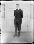 Young Man In A Suit And Cap by George French
