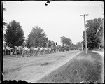 Circus Parade Through North Conway, Nh by George French