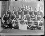 1908 Bates College Track Team by George French
