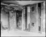 Fire Damaged Interior Of A House by George French