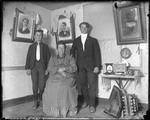 Family Portrait, Ma, George & Brother by George French