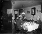 Family Gathered For Supper by George French