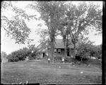 Family Members Outside The French Homestead, Parsonfield, Me by George French